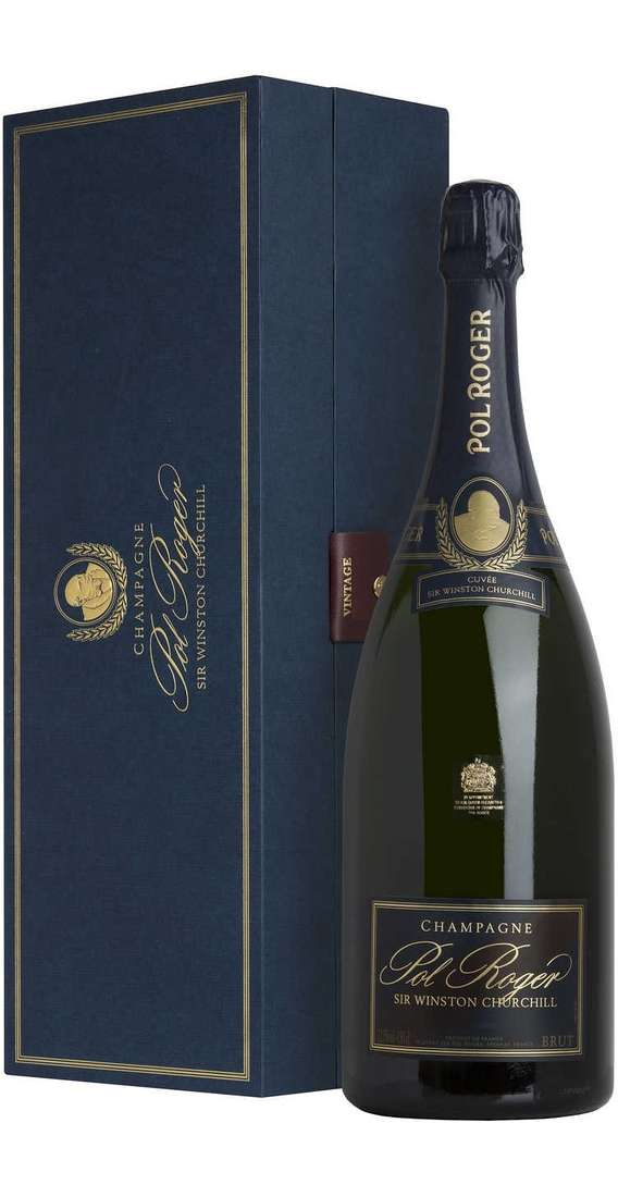 "Magnum 1,5 Litri Champagne Brut 2009 ""SIR WINSTON CHURCHILL"" In Cofanetto"