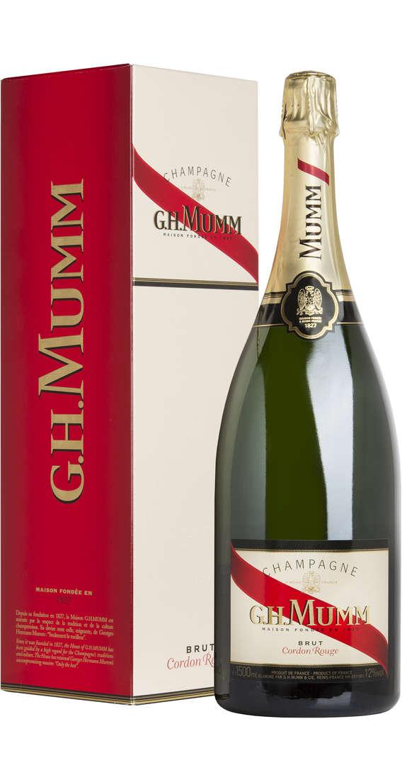 "Magnum 1,5 litri Champagne Brut ""Cordon Rouge"""