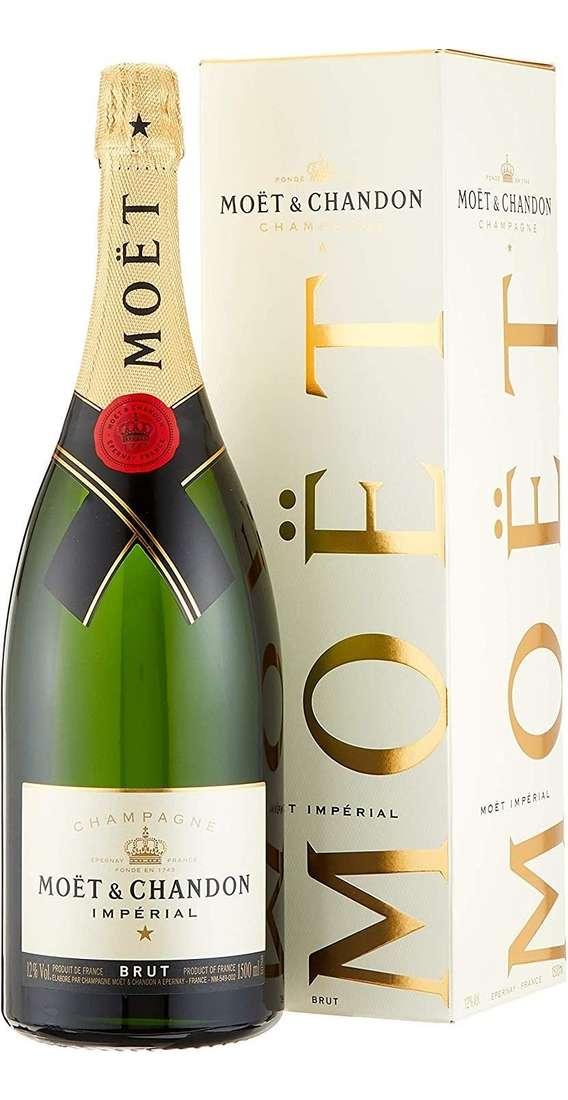 """Magnum 1,5 Litri Champagne """"MOET IMPERIAL"""" Astucciato"""