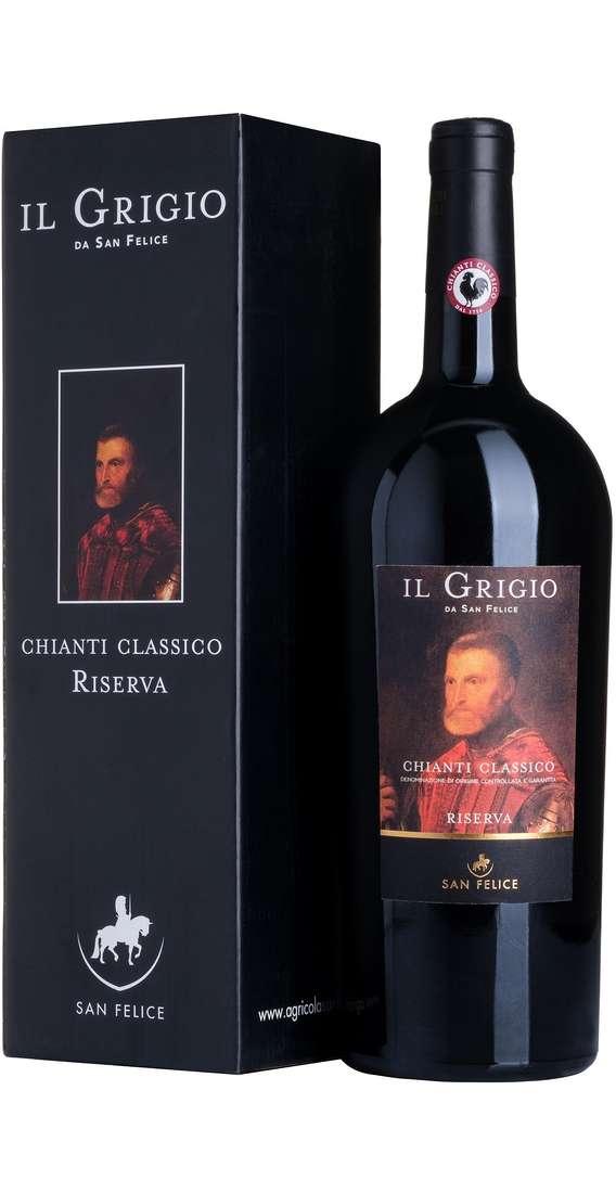 """Magnum 1,5 Litri Chianti Classico Riserva """"IL GRIGIO"""" DOCG in Astuccio"""