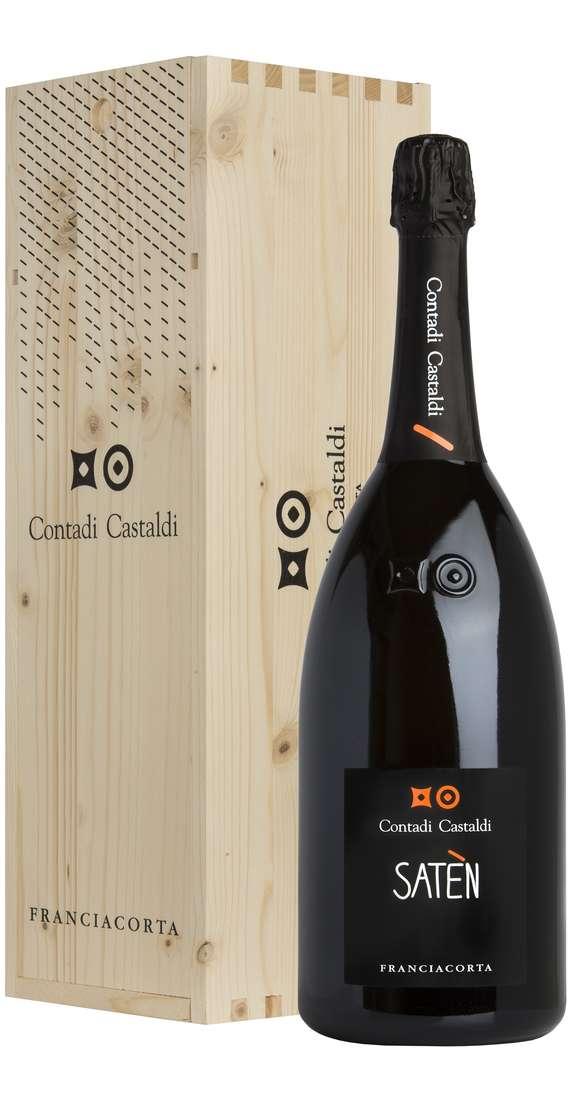 Magnum 1,5 litri Franciacorta Saten Millesimato DOCG 2012 in cassa di legno