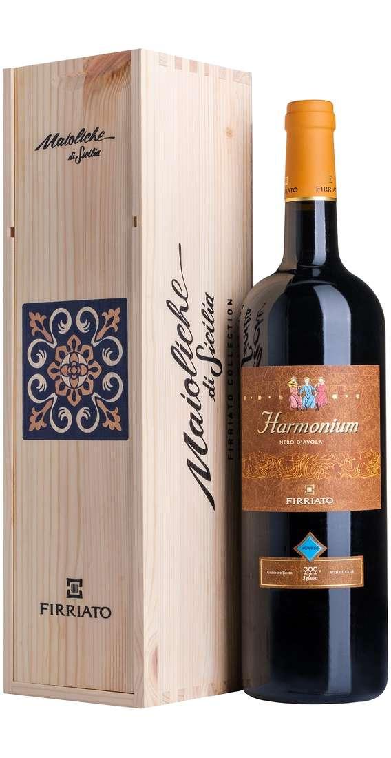 Magnum 1,5 litri HARMONIUM Nero d'Avola in Cassa Legno
