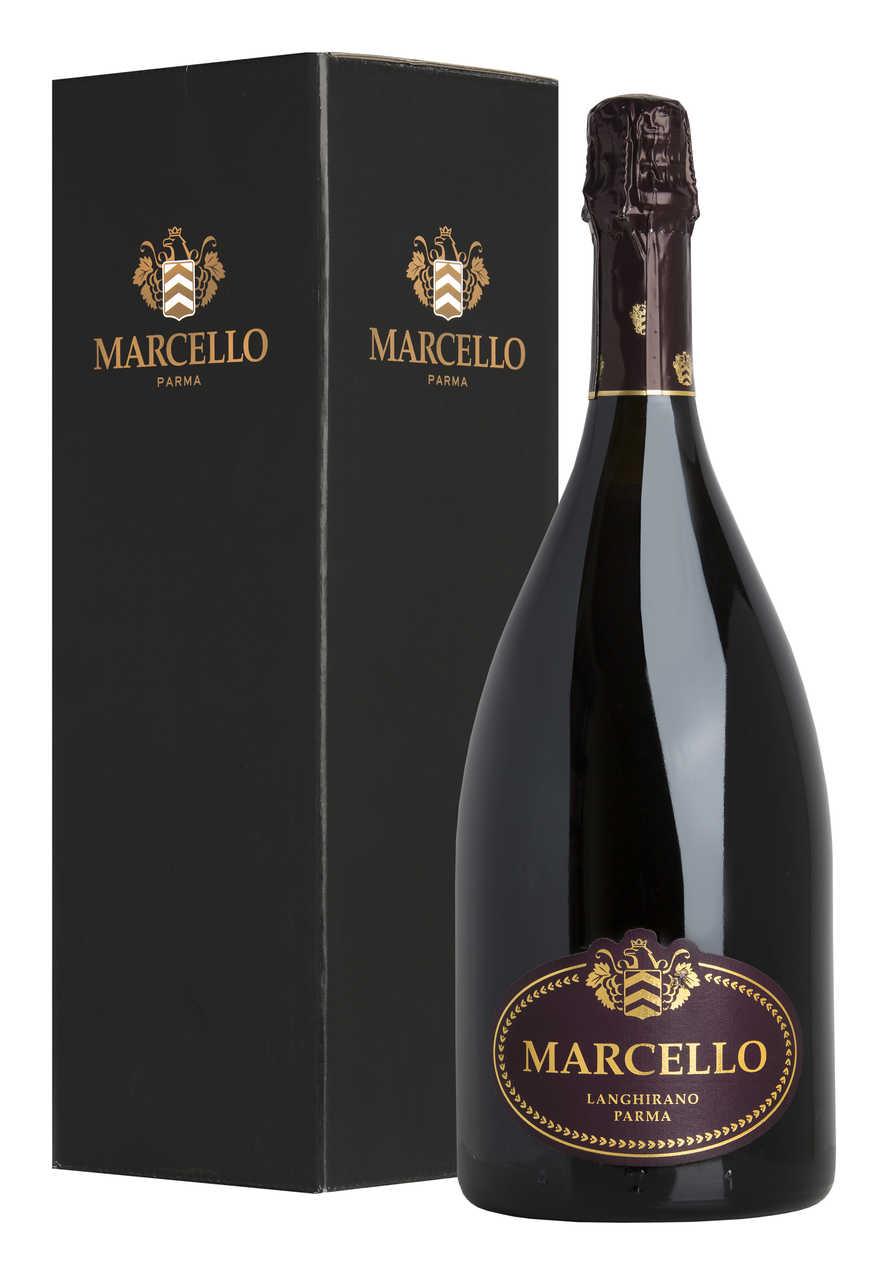 """Magnum 1,5 Litri Lambrusco """"Marcello Gran CRU"""" Astucciato, Emilia Romagna (Italia), Ariola"""