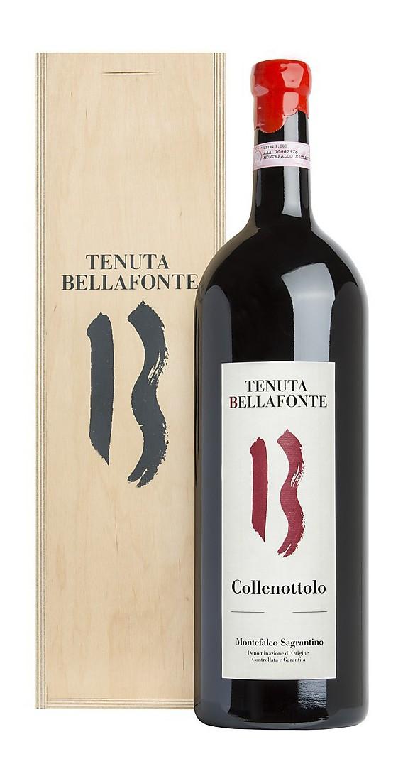 """Magnum 1,5 litri Montefalco Sagrantino 2012 DOCG """"Collenottolo"""" In Cassa Legno"""