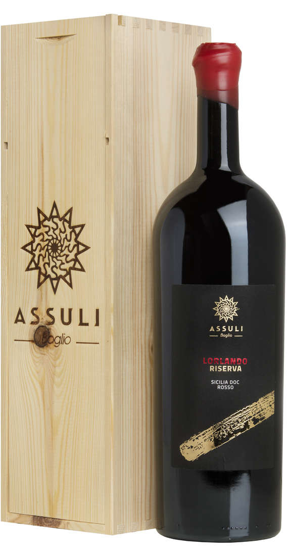 "Magnum 1,5 litri Nero d'Avola RISERVA ""Lorlando"" In Cassa Legno"