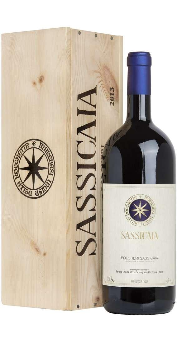 Magnum 1,5 Litri Sassicaia Tenuta San Guido 2013 in cass di legno