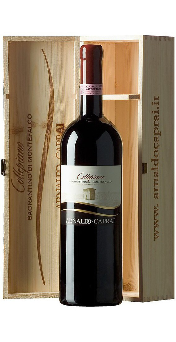 """Magnum Montefalco Sagrantino """"Collepiano"""" 2010 DOCG in Cassa di legno"""