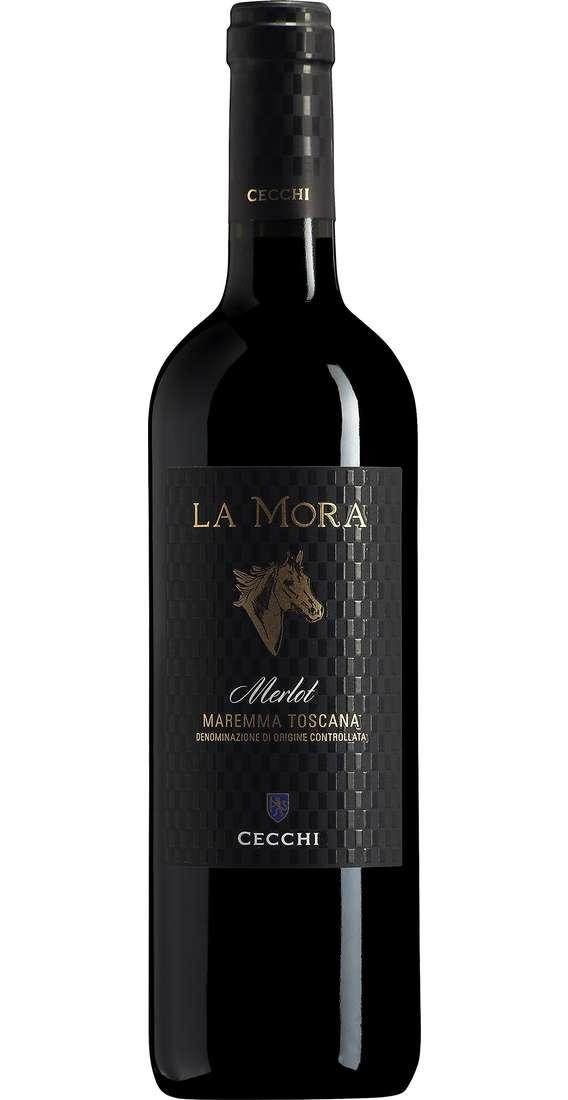 """Maremma Toscana Merlot """"LA MORA"""" DOC"""