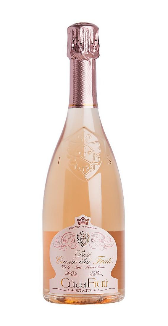 "Spumante Brut Metodo Classico ""Rosé Cuvée dei Frati"""