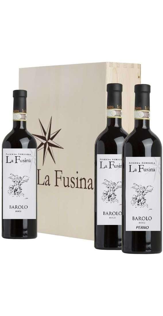 Verticale Barolo  2012 - 2014 - 2015 in Cassa Legno